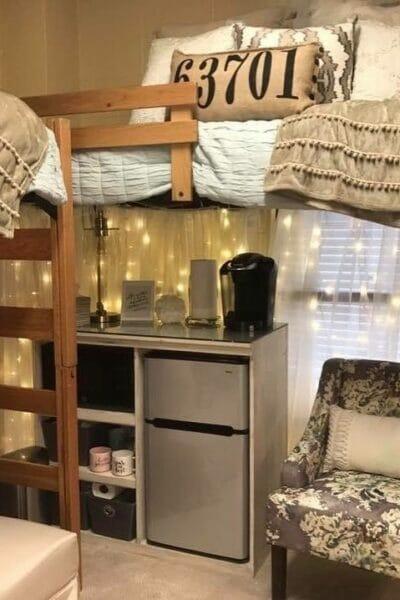 Genius Dorm Room Storage Ideas