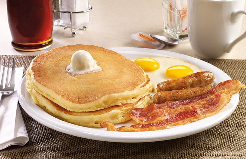 Birthday Freebies at Restaurants Denny's